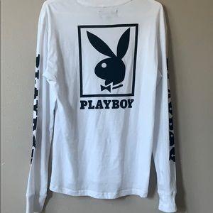 PLAYBOY Tops - white playboy long sleeve
